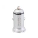 Auto punjač Remax Alloy Seies III RCC-222 dual USB 2.4A sivi