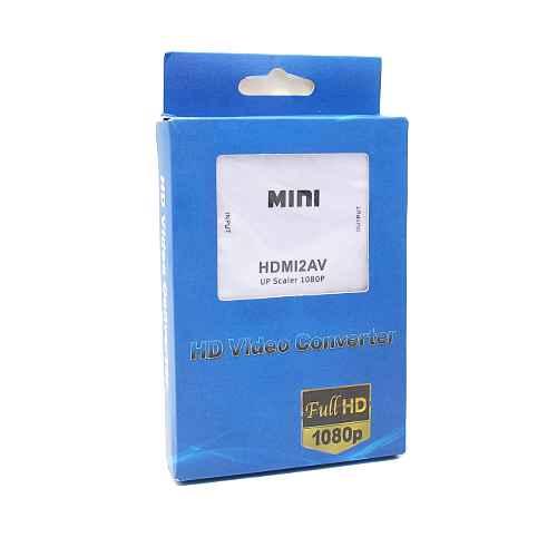 HDMI F to AV adapter