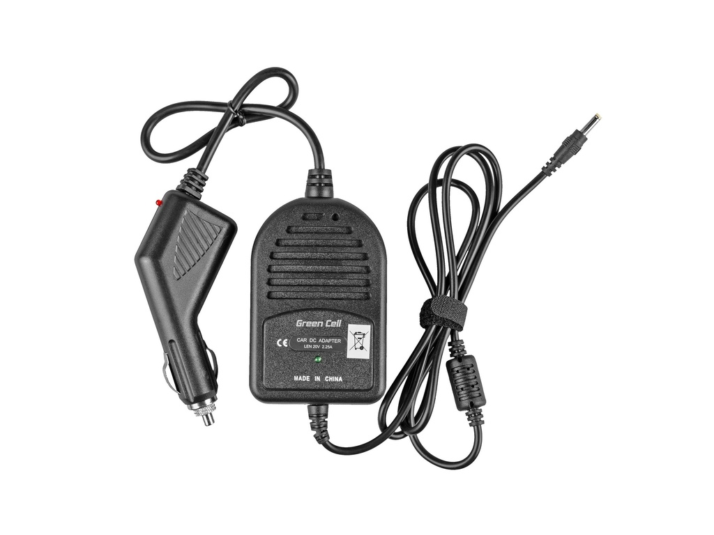 Car AC adapter for Lenovo IdeaPad 100 110 Yoga 510 520 20V 2.25A
