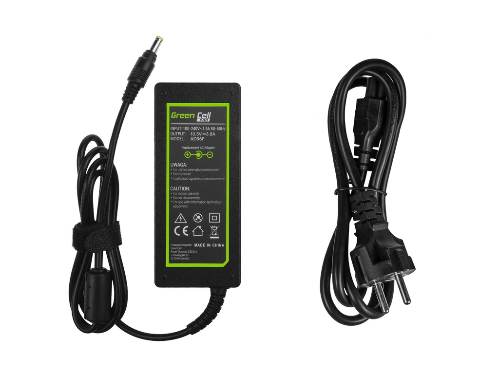 Green Cell PRO Charger  AC Adapter for Sony Vaio S13 SVS13 Pro 11 13 Duo 11 13 10.5V 3.8A 40W