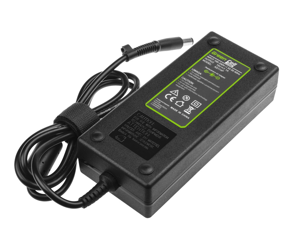 Green Cell PRO Charger  AC Adapter for HP Compaq 6710b 6715b 6715s 6910p 8510p nc6400 nx6110 nx7300 nx7400 19V 7.1A 135W