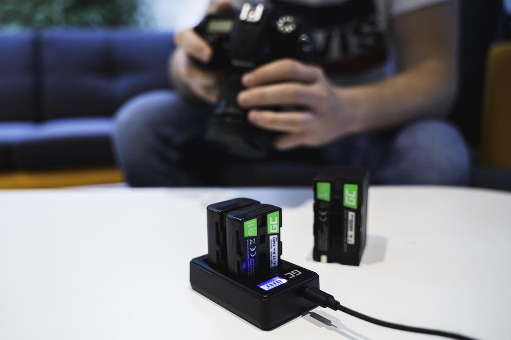 Battery Green Cell ® D-Li109 DLi109 for cameras Pentax K-r, K-2, K-30, K-50, K-500, K-S1, K-S2 7.4V 1600mAh