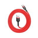 Baseus Cafule Cable Durable Nylon Braided Wire USB / USB-C QC3.0 3A 1M red (CATKLF-B09)
