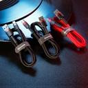 Baseus Cafule Cable Durable Nylon Braided Wire USB / USB-C QC3.0 2A 2M black-grey (CATKLF-CG1)