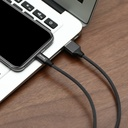 Baseus Yiven USB / Lightning Cable with Material Braid 1,2M black (CALYW-01)