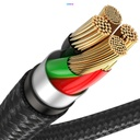 Baseus Mobile Game Elbow Cable USB Lightning with Nylon Braid 2.4A 1m black (CAL7C-A01)