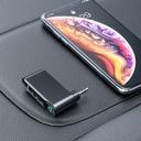 Baseus Qiyin Bluetooth audio receiver AUX mini jack for the car black (WXQY-01)
