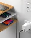 Baseus Zinc magnetic USB cable + plug set Lightning / USB Type C / micro USB 2A 2m black (TZCAXC-B01)