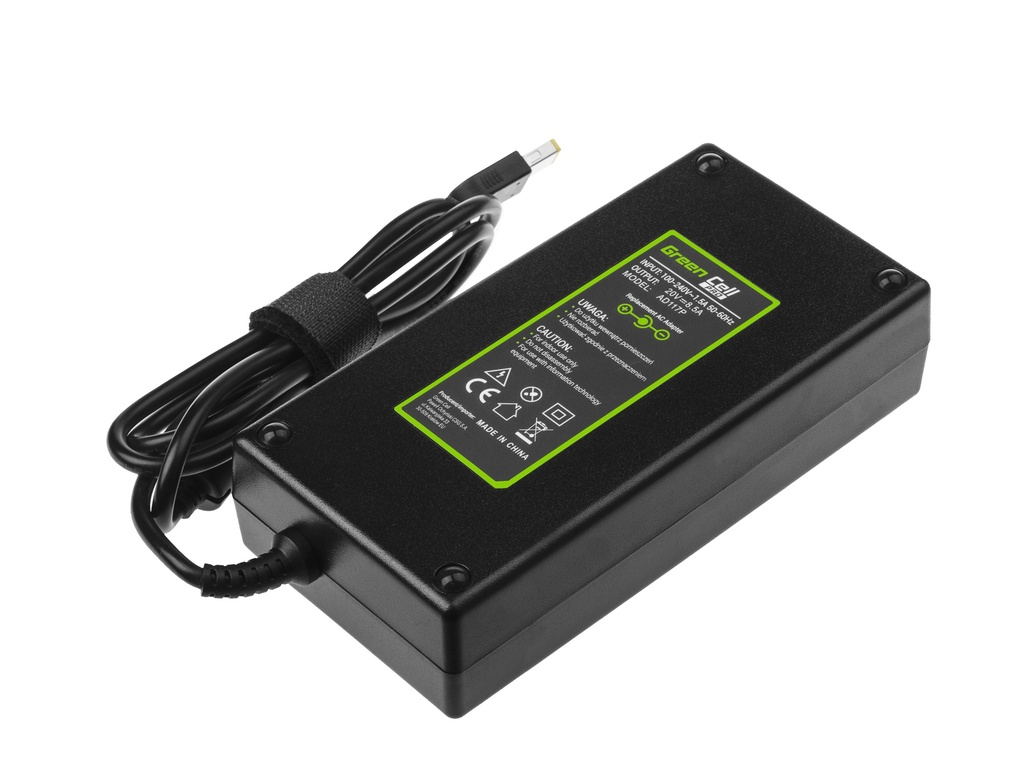 Green Cell PRO Charger  AC Adapter for Lenovo Legion Y530 Y720 ThinkPad W540 W541 P50 P51 P52 P70 P71 20V 8.5A 170W