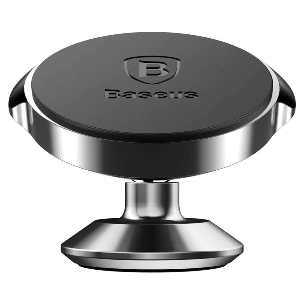 Baseus Small Ears Series Universal Magnetic Car Mount Phone Holder for Dashboard black (SUER-B01)