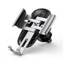 Baseus Future Gravity Car Mount Air Vent Phone Bracket Holder silver (SUYL-WL0S)