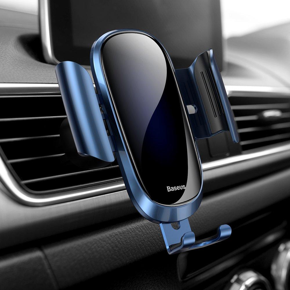 Baseus Future Gravity Car Mount Air Vent Phone Bracket Holder blue (SUYL-WL03)