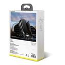 Baseus Future Gravity Car Mount roung Air Vent Phone Bracket Holder black (SUYL-BWL01)