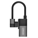Adapter Joyroom za slušalice i punjenje iPhone lightning srebrni
