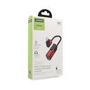 Adapter Joyroom za slušalice i punjenje iPhone lightning crveni