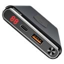 Baseus Wireless Charger Qi Power Bank 10000 mAh 15W USB Type-C PD + Quick Charge 3.0 QC 3.0 Ports black (WXHSD-D01)