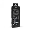Auto punjac REMAX Cutie RCC-211 USB 2.4A sa iPhone lightning/Micro USB/Type C kablom crni