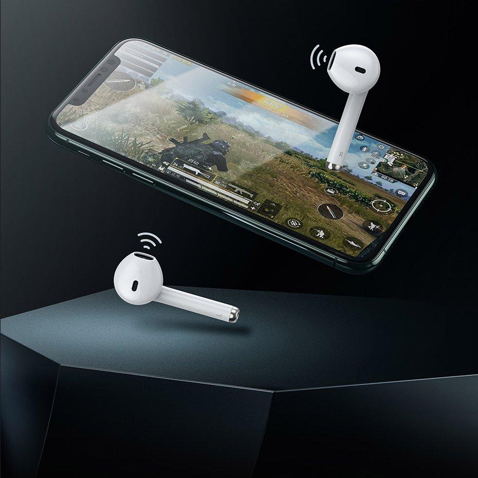 Baseus Encok True Wireless Earphones W04 Pro TWS white (NGW04P-02)