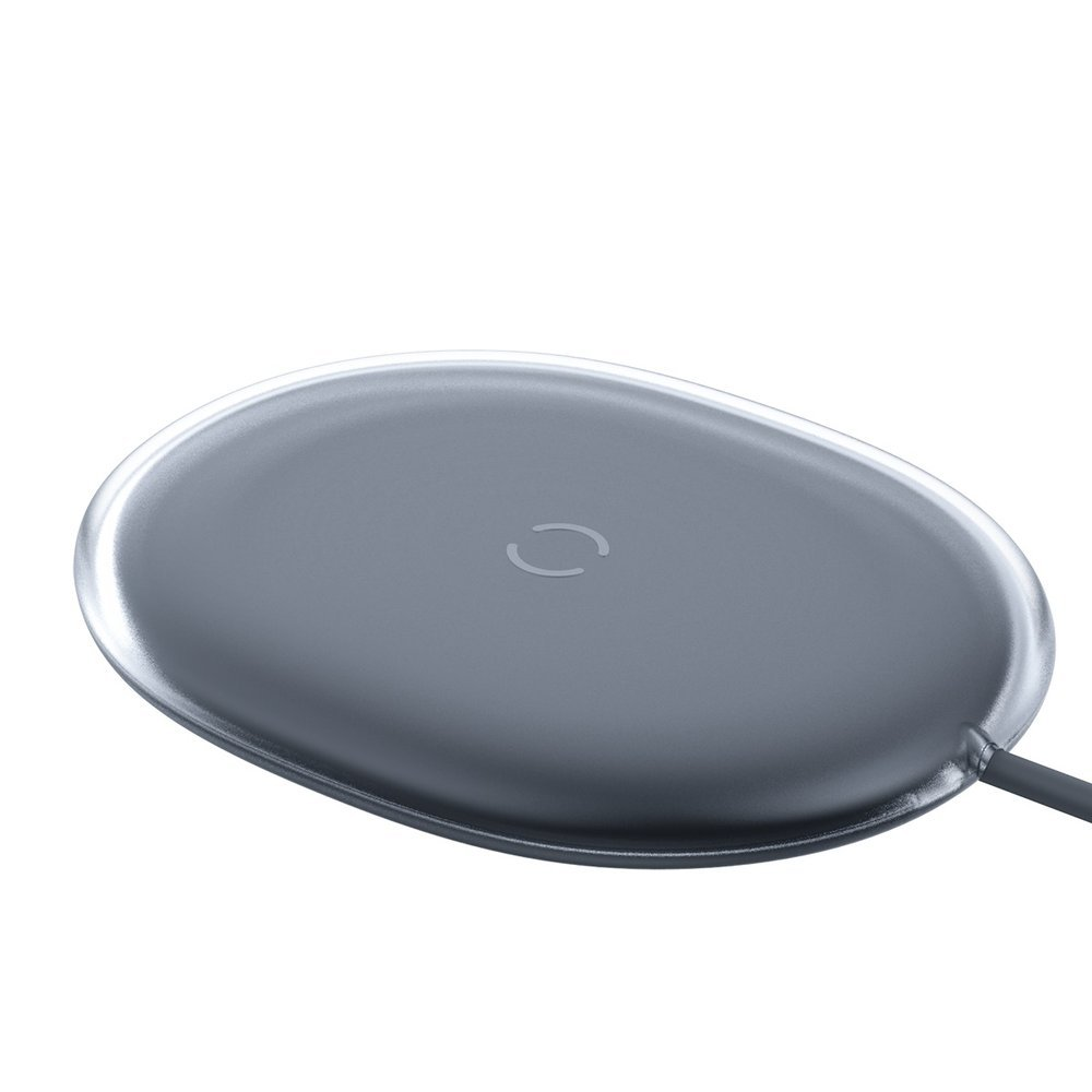 Baseus Jelly Qi wireless charger 15 W + USB - USB Type C cable black (WXGD-01)