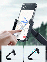 Baseus 5in1 Vehicle Bracket Wireless Charger 10 W Electric Auto Car Mount Holder Qi Charger + car charger + 2 mounts + micro USB cable black (WXHW01-B01)