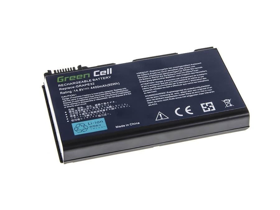 Green Cell Battery for Acer TravelMate 5220 5520 5720 7520 7720 / 14,4V 4400mAh