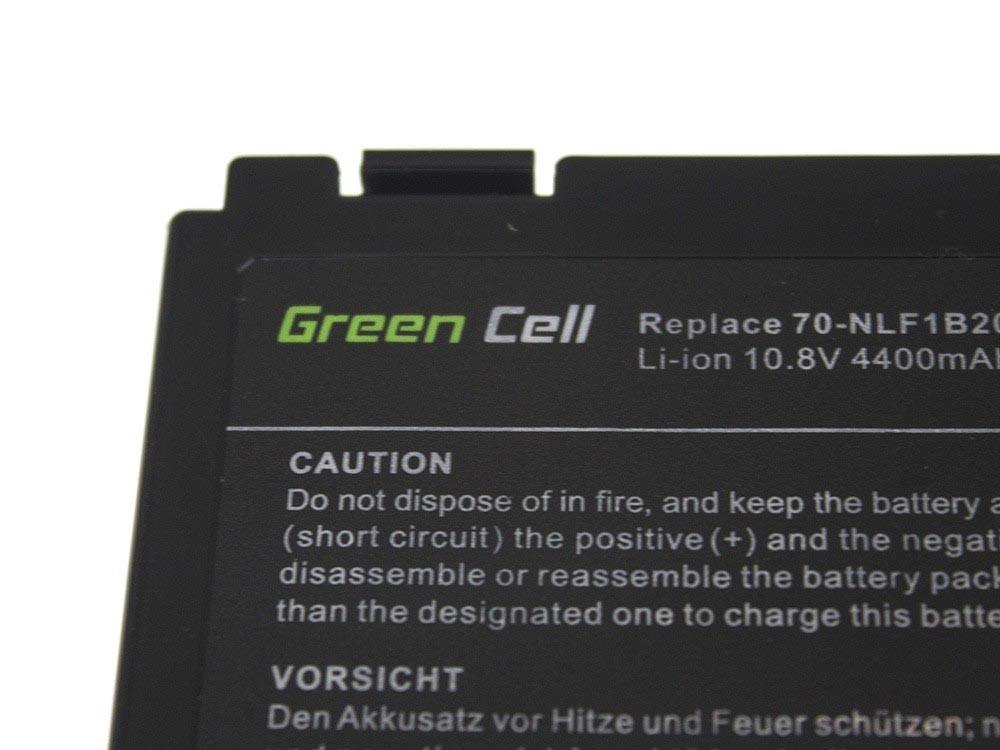 Green Cell Battery for Asus A32-F82 K40 K50 K60 K70 / 11,1V 4400mAh
