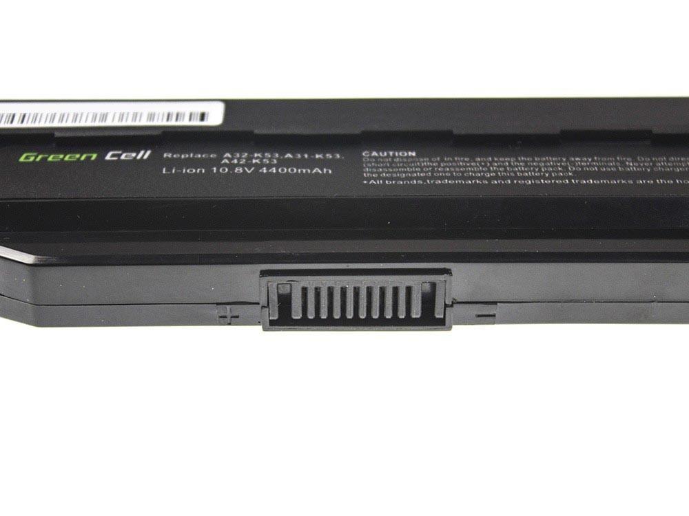 Green Cell Battery for Asus A31-K53 X53S X53T K53E / 11,1V 4400mAh