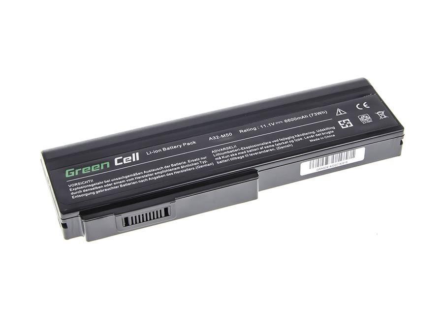 Green Cell Battery for Asus A32-M50 A32-N61 N43 N53 G50 L50 M50 M60 N61VN / 11,1V 6600mAh