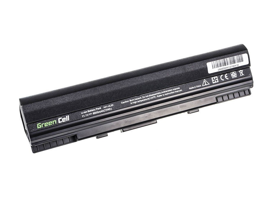 Green Cell Battery for Asus Eee-PC 1201 1201N 1201K 1201T / 11,1V 6600mAh