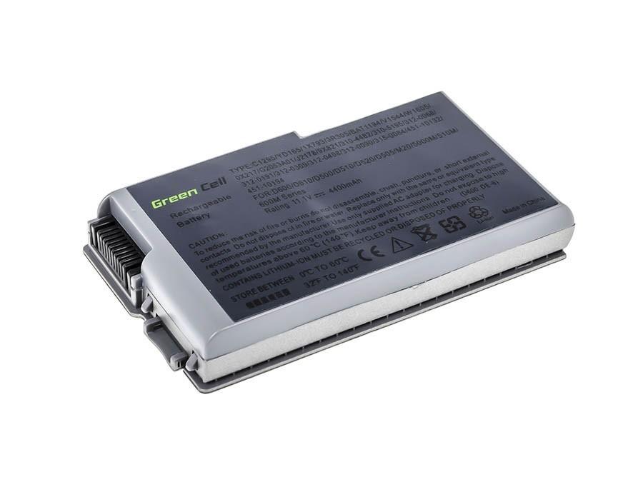 Green Cell Battery for Dell Latitude D500 D505 D510 D520 D530 D600 D610 / 11,1V 4400mAh