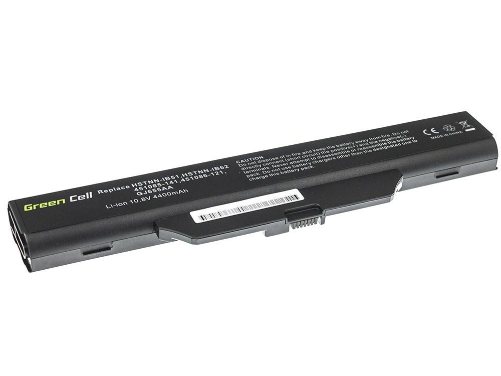 Green Cell Battery for HP 550 610 HP Compaq 6720s 6820s / 11,1V 4400mAh