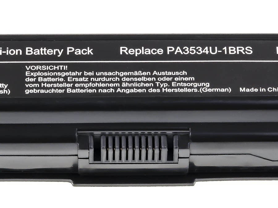 Green Cell Battery for Toshiba Satellite A200 A300 A500 L200 L300 L500 / 11,1V 6600mAh