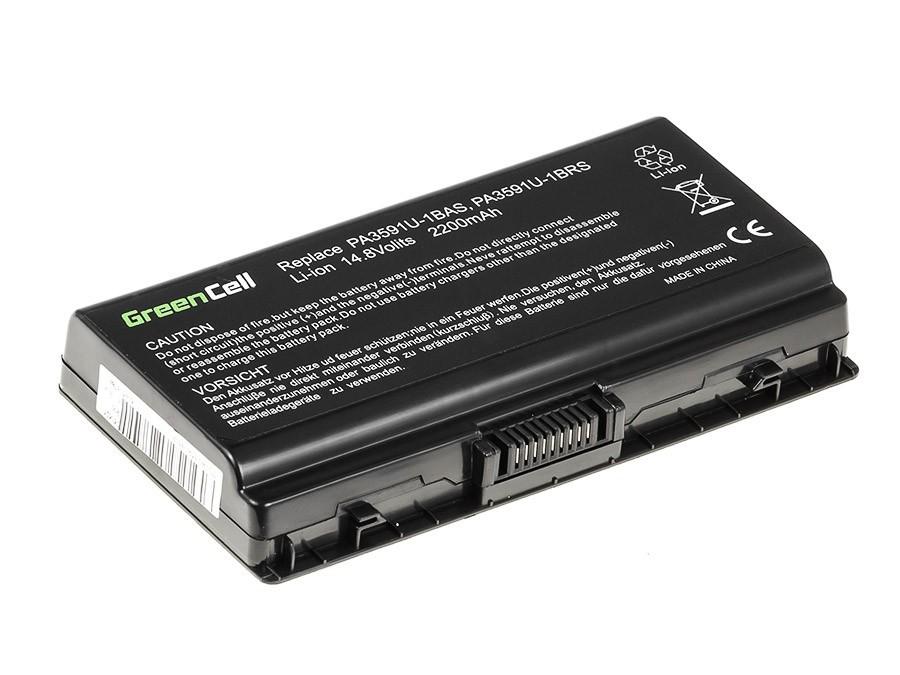 Green Cell Battery for Toshiba Satellite L40 L45 L401 L402 PA3591U-1BRS / 14,4V 2200mAh