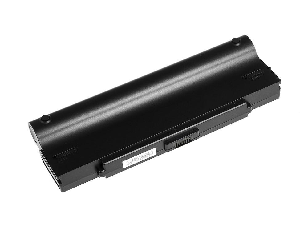Green Cell Battery for Sony Vaio VGN-AR570 CTO VGN-AR670 CTO VGN-AR770 (black) / 11,1V 6600mAh