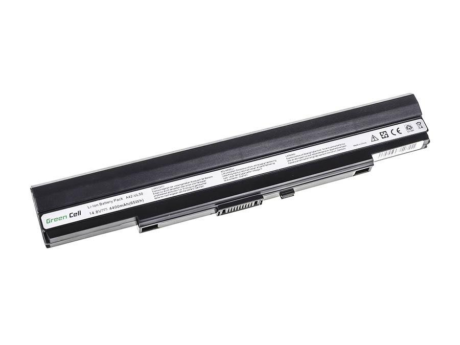 Green Cell Battery for Asus UL30 UL30A UL30VT UL50 UL80 / 14,4V 4400mAh