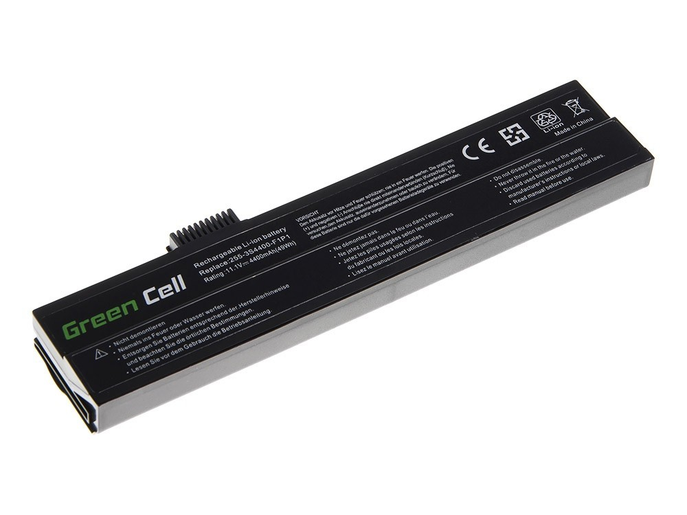 Green Cell Battery for Fujitsu-Siemens 3000 5000 7000 / 11,1V 4400mAh