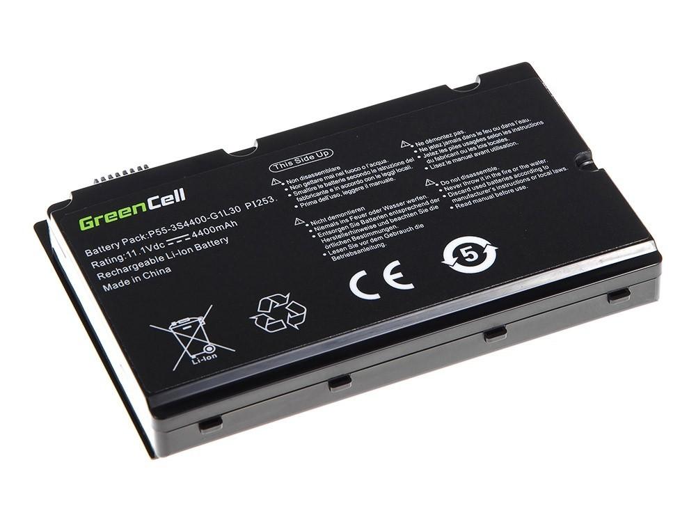 Green Cell Battery for Fujitsu-Siemens Amilo Pi2530 Pi2550 Pi3540 Xi2550 / 11,1V 4400mAh