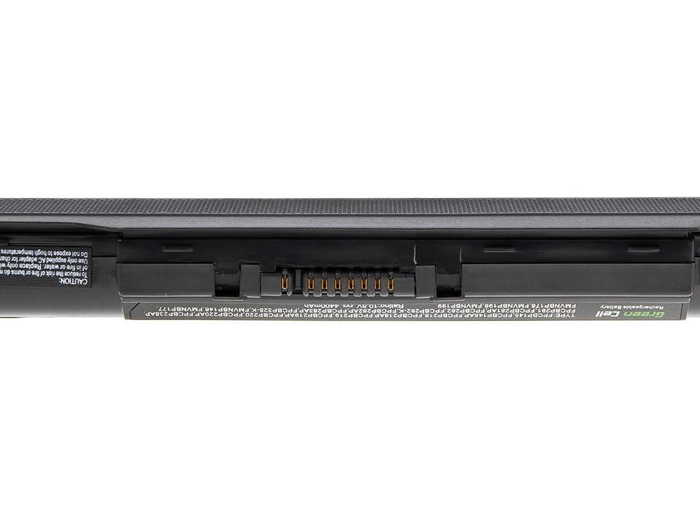 Green Cell Battery for Fujitsu-Siemens Lifebook S2210 S6310 L1010 P770 / 11,1V 4400mAh