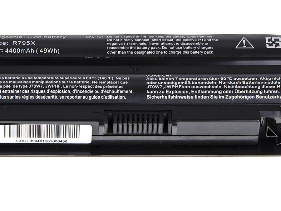 Green Cell Battery for Dell XPS 14 14D 15 15D 17 / 11,1V 4400mAh
