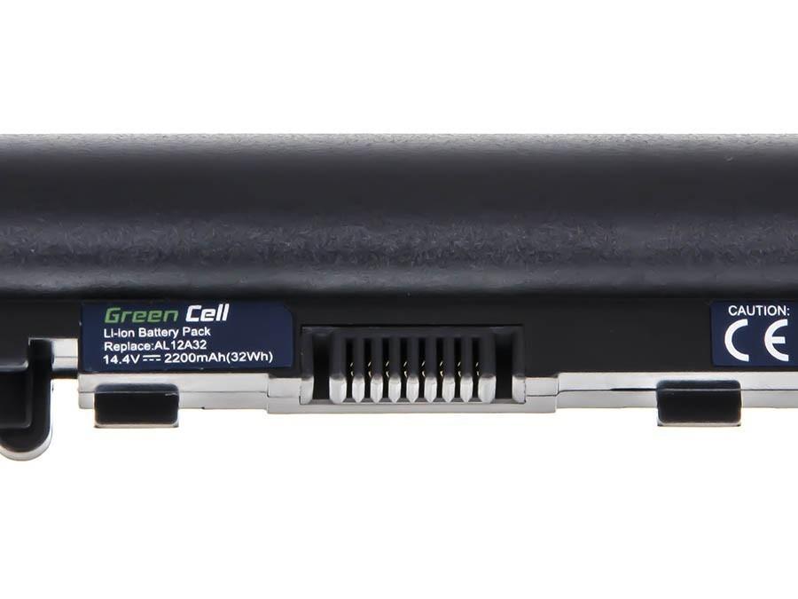 Green Cell Battery for Acer E1-522 E1-530 E1-532 E1-570 E1-572 V5-531 / 14,4V 2200mAh