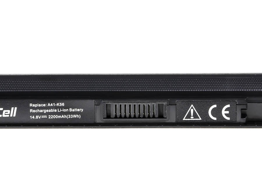 Green Cell Battery for Asus A32-K56 A46 A56 K46 K56 S56 / 14,4V 2200mAh