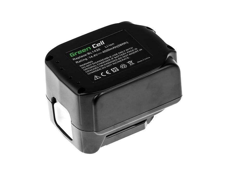 Power Tools Battery BL1415 BL1430 BL1440 for Makita 14.4V 4000mAh