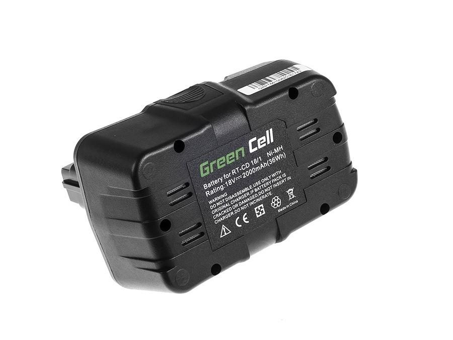 Power Tools Battery 451327501029 for Einhell RT-CD 18/1 18V 2000mAh
