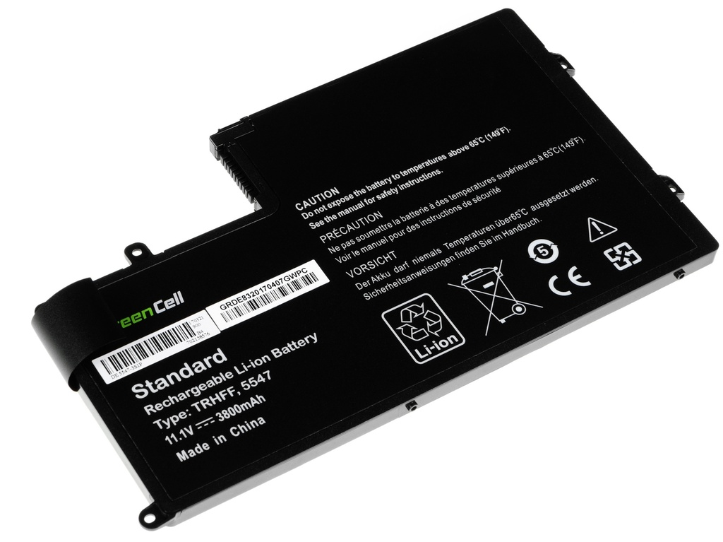 Green Cell Battery for Dell Inspiron 15 5542 5543 5545 5547 5548 / 11,1V 3400mAh