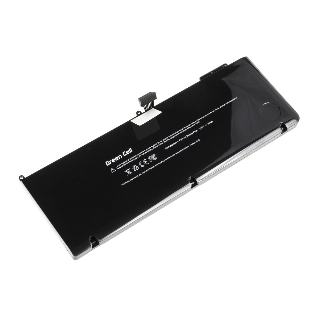 Green Cell PRO Battery for Apple Macbook Pro 15 A1286 2009-2010 / 10,95V 6700mAh