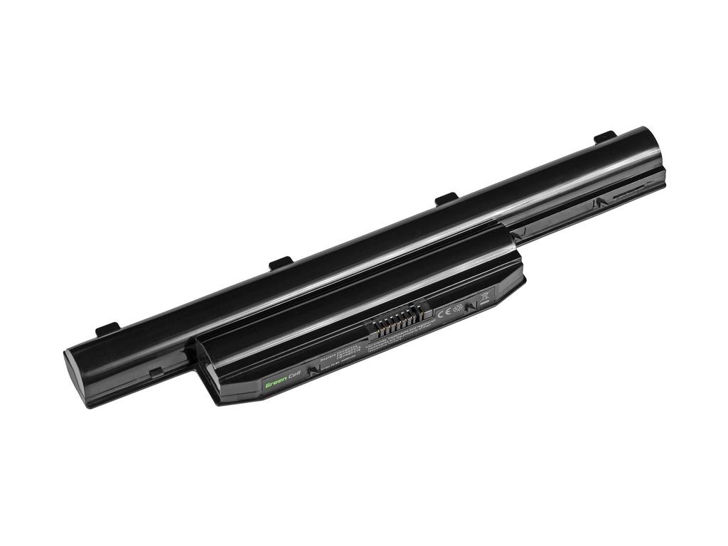 Green Cell Battery for Fujitsu LifeBook LH532 / 11,1V 4400mAh