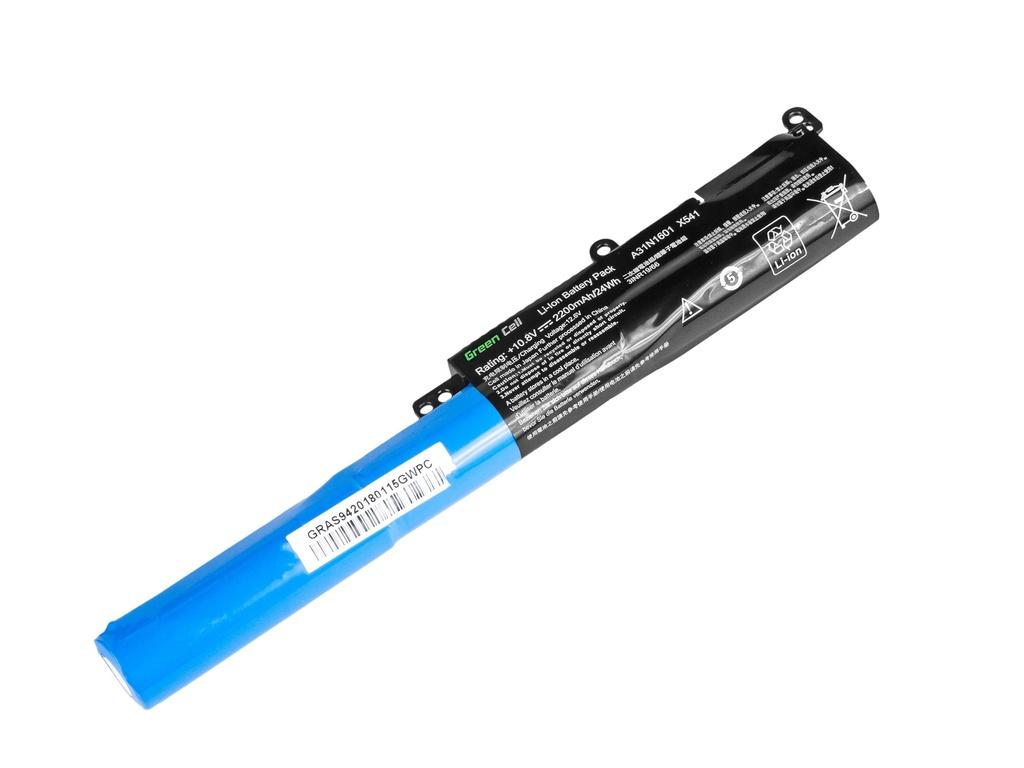 Green Cell Battery for Asus Vivobook Max F541N F541U X541N X541S X541U / 11,1V 2200mAh
