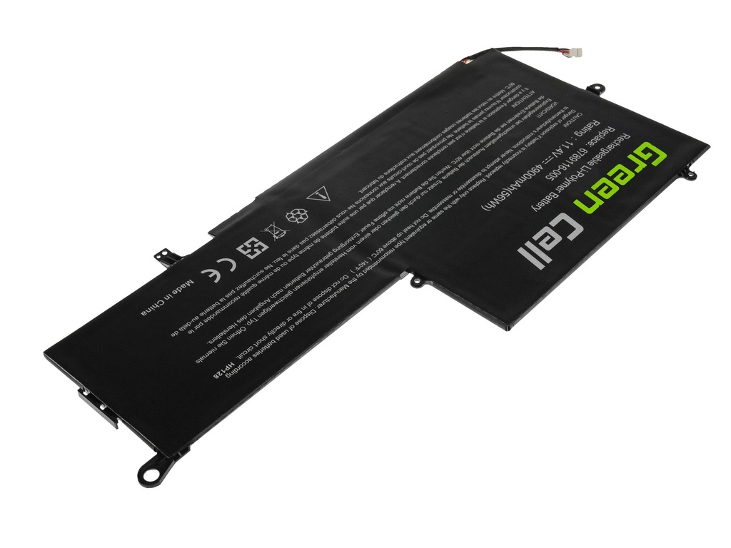 Green Cell Battery for HP Envy x360 13-Y HP Spectre Pro x360 G1 G2 / 11,4V 4900mAh