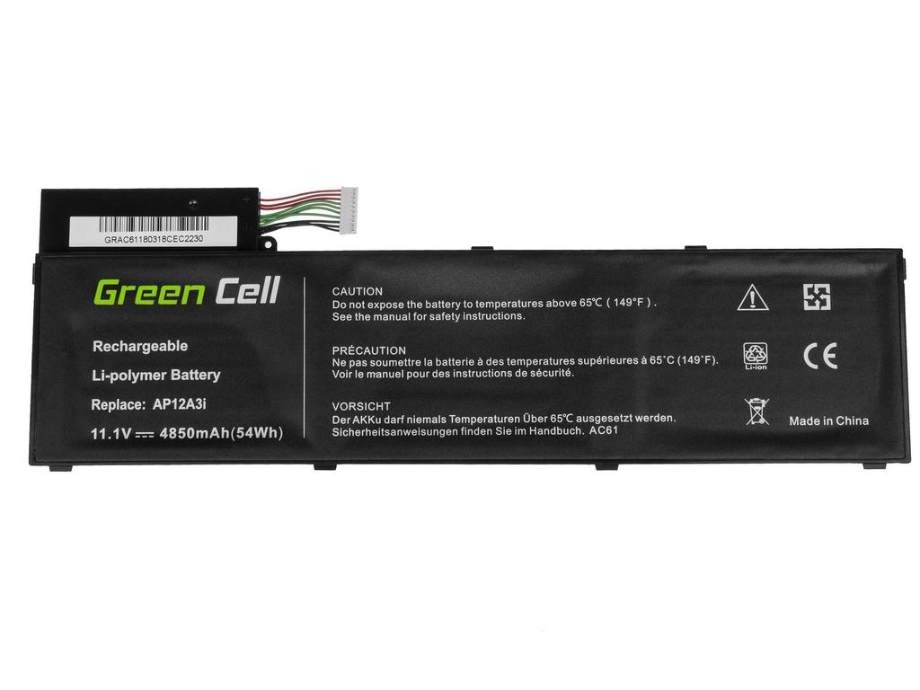 Green Cell Battery for Acer Aspire Timeline Ultra M3 M5 / 11,1V 4850mAh