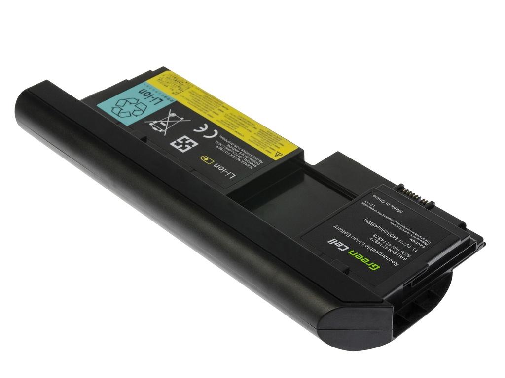 Green Cell Battery for Lenovo ThinkPad Tablet X220 X220i X220t X230 X230i X230t / 11,1V 4400mAh
